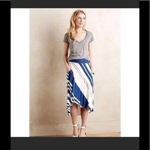 Anthropologie Skirt with High Low Hem
